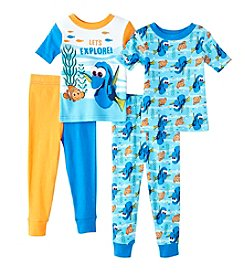 Disney® Boys' 2T-4T 4-Piece Dory Lets Explore Set