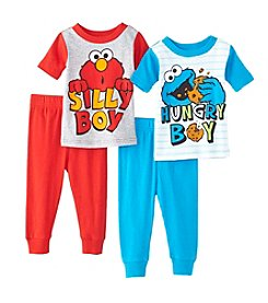 Sesame Street® Baby Boys 4-Piece Sesame Street Two Friends Set