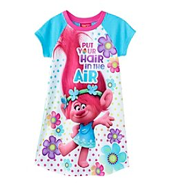 DreamWorks Trolls™ Girls 4-10 Trolls Air Hair Dorm Gown