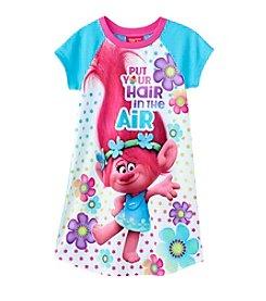 DreamWorks Trolls™ Girls 4-10 Trolls Air Hair Dorm Gown