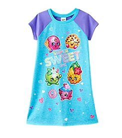 Shopkins Girls' 4-10 Super Sweet Shopkins Dorm Gown
