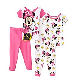 Disney® Baby Girls' 4-Piece All Minnie Mouse® Set