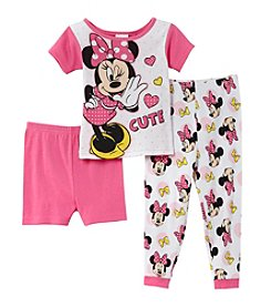 Disney® Girls' 2T-4T 3-Piece All Minnie Set