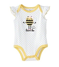 Cuddle Bear® Baby Girls' Queen Bee Bodysuit