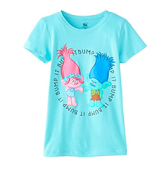 UPC 758315072020 product image for DreamWorks® Trolls Girls' 7-16 Bump Troll Short Sleeve Tee | upcitemdb.com