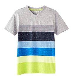 Ruff Hewn Boys' 8-20 Short Sleeve Striped V-Neck