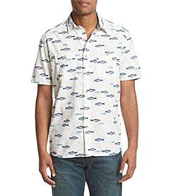 Ruff Hewn Men's Short Sleeve Printed Workshirt