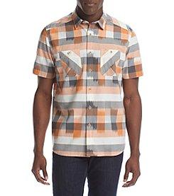 Ruff Hewn Men's Short Sleeve Ikat Workshirt