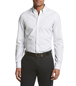 Michael Kors® Men's Slim Fit Leland Check Long Sleeve Button Down Shirt