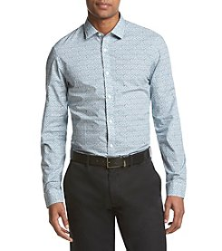 Michael Kors® Men's Slim Fit Jackman Print Long Sleeve Button Down Shirt