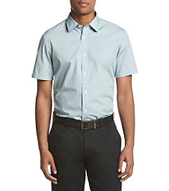 Michael Kors® Men's Short Sleeve Tailored Fit Howard Print Button Down Shirt