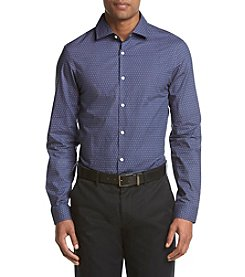 Michael Kors® Men's Slim Fit Hiram Print Long Sleeve Button Down Shirt