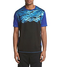 Exertek® Men's Short Sleeve Foil Printed Tee