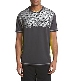 Exertek® Men's Short Sleeve Metallic Foil Printed Tee