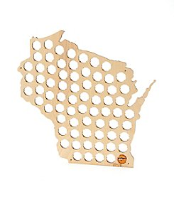 Beer Cap Trap Wisconsin Bottle Cap Map