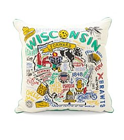 Primitives by Kathy Super Wisconsin Decorative Pillow
