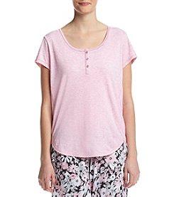 KN Karen Neuburger Cap Sleeve Pajama Top