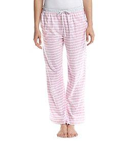 KN Karen Neuburger Stripe Pajama Pants
