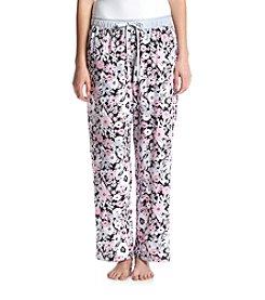 KN Karen Neuburger Floral Pajama Pants