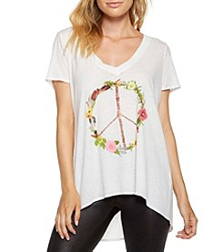Chaser® Peace Wreath Tee
