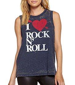 Chaser® I Heart Rock N' Roll Tee