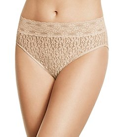 Wacoal® Halo Lace Hi Cut Brief Panty