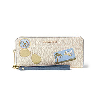 6dd92f42e7ea UPC 190049723876 product image for MICHAEL Michael Kors® Illustrations Fly  Away Travel Continental Wallet ...