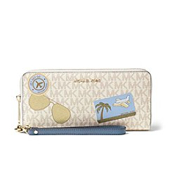 MICHAEL Michael Kors® Illustrations Fly Away Travel Continental Wallet