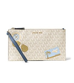 MICHAEL Michael Kors® Illunstrations Fly Away Large Zip Clutch
