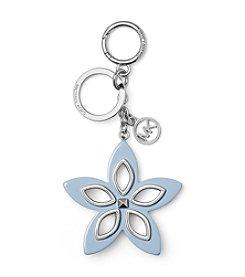MICHAEL Michael Kors Blue Flora Grommet Keychain