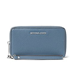 MICHAEL Michael Kors KORS STUDIO Jet Set Travel Large Flat Multifunction Phone Case