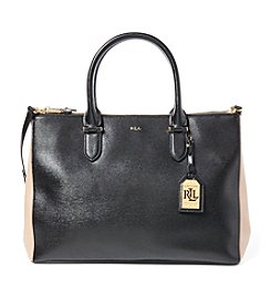 Lauren Ralph Lauren® Newbury Double-Zip Satchel
