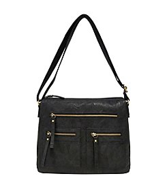 GAL Multi Pocket Crossbody With Back Organizer