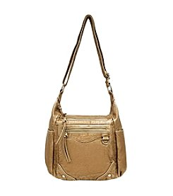 GAL Grainy Multi Pocket Hobo Crossbody