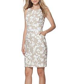 Chaps® Floral Matte Jersey Dress