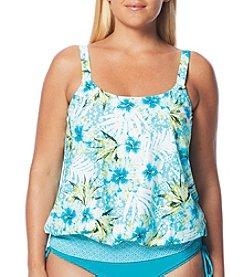 Beach House® Plus Size Sarah Blouson Tybee Tankini