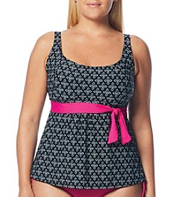 Beach House® Plus Size Laguna Vista Darcy Underwire Tankini