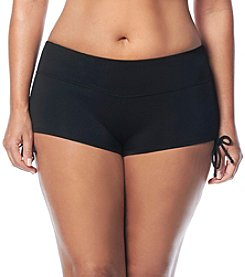 Beach House® Plus Size Blake Adjustable Swim Shorts