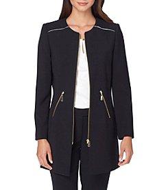 Tahari ASL® Front Zip Jacket
