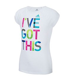 adidas® Girls' 2T-6X I've Got This Short Sleeve Tee