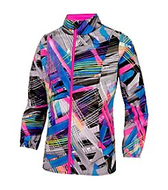 adidas® Girls' 2T-6X Run Like The Wind Jacket