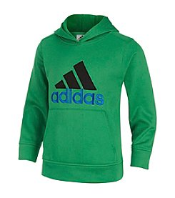 adidas® Boys' 4-7 Solid Fleece Hoodie