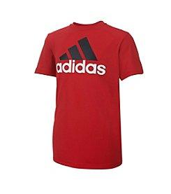 adidas® Boys' 8-20 Perf Logo Tee