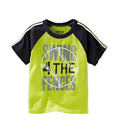 OshKosh B'Gosh® Boys' 2T-7 Short Sleeve Swing Tee