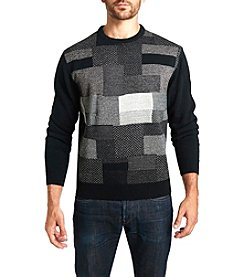 Weatherproof® Men's Colorblock Multi Pattern Sweater