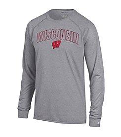 Champion® NCAA® Wisconsin Badgers Men's Long Sleeve Tee
