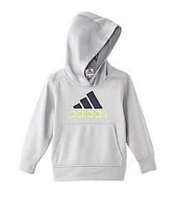 adidas® Boys' 2T-7 Solid Fleece Hoodie