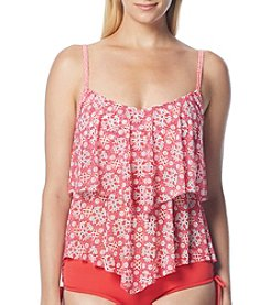 Beach House® Sara Mesh Layer Tankini Top