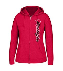 J. America® NCAA® Ohio State Buckeyes Women's Full Zip Hoodie