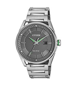 Citizen® Men's Eco-Drive Stainless Steel Watch